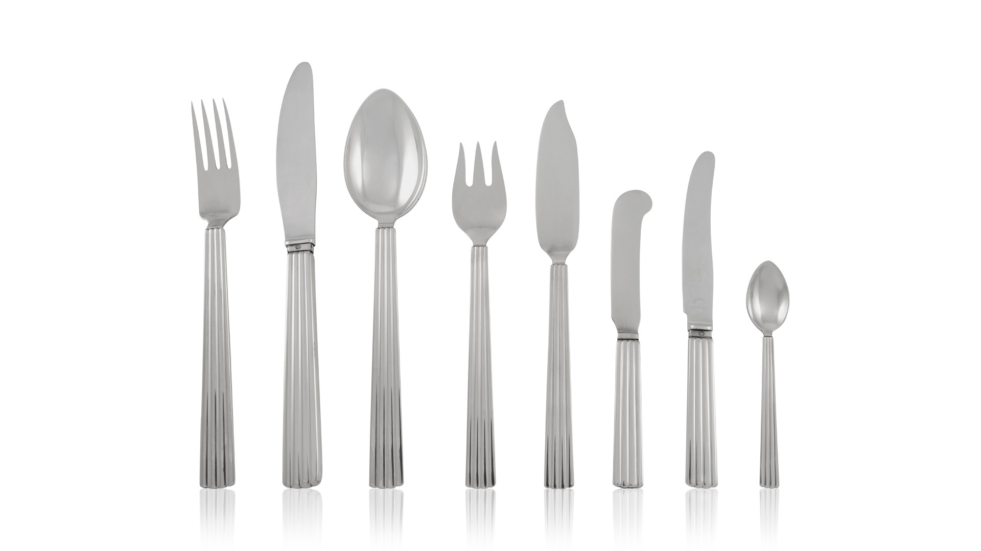 """Continental by Georg Jensen Sterling Silver Cocktail Fork 2-Tine 5 3//8/"""""""