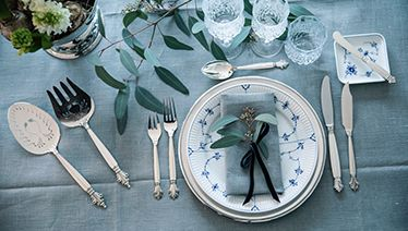 Georg Jensen Acanthus Sterling Silverware For Twelwe